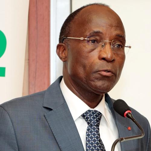 Adama Koné, ministre de l'Economie et des finances de Côte d'Ivoire
