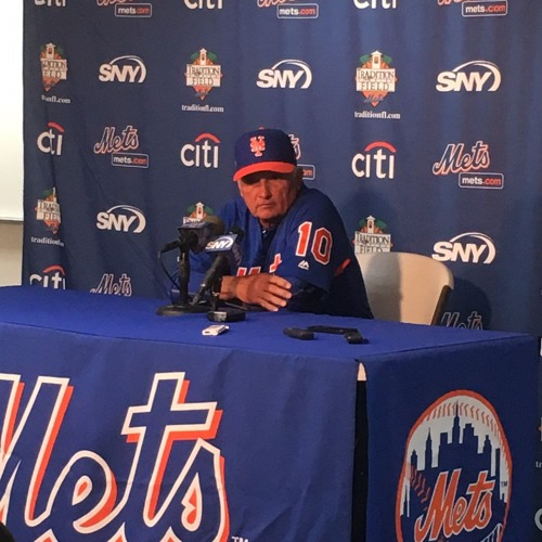 Terry Collins talks Wheeler, names Syndergaard Opening Day starter