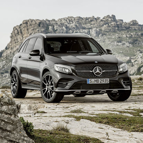 Motoring: Mercedes' Populist Crossover Gets AMG Firepower