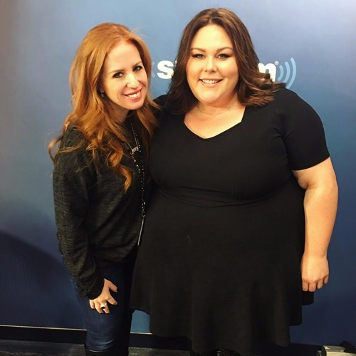 Chrissy Metz on SIriusXM Just Jenny show with Jenny Hutt