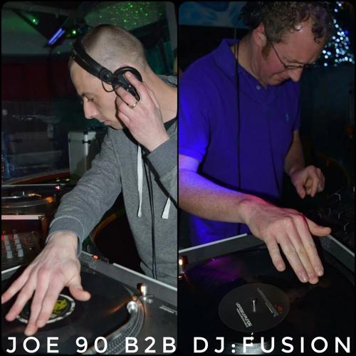 DJ:Fusion B2B Joe 90 w/ MC Marty & Duracell - Regenerate Xmas Party at KC's (9th Dec 2016)