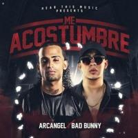 Cover mp3 ME ACOSTUMBRE - ARCANGEL ❌ BAD BUNNY