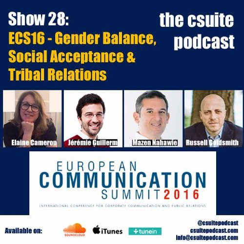 Show 28 - Gender Balance, Social Acceptance & Tribal Relations - ECS16