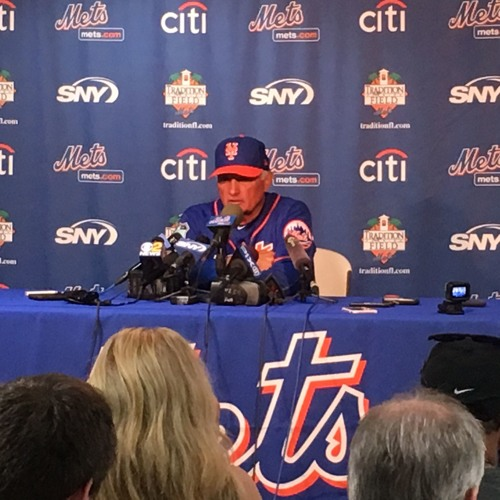 Terry Collins on 1st full squad workout, David Wright's health