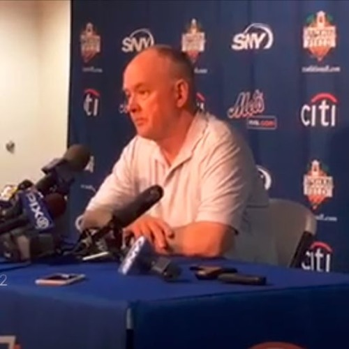 "New York Mets GM Sandy Alderson: ""We're All In Here"""