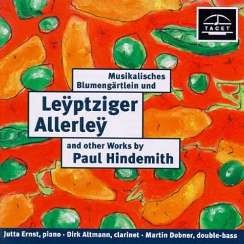 Klarinettensonate und Leyptziger Allerley von P. Hindemith