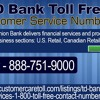 TD Bank Toll Free Customer Service Numbers