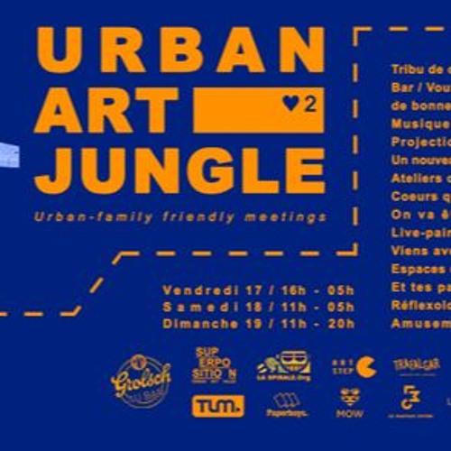 Closing Mix du Jour 2 de l'Urban Art Jungle Festival - 2017 (Chalet Perché X Superposition)