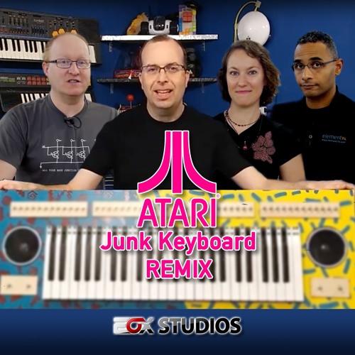 Atari Junk Keyboard Remix (8-Bit Keys & Ben Heck Show)