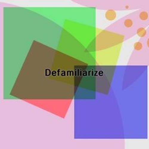 Defamiliarize (PABAT2017)