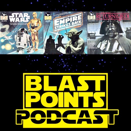 Episode 61 - We Love the Star Wars Read Along Books and Records!  Let's Begin Now!