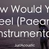 how would you feel paean ed sheeran acoustic instrumental