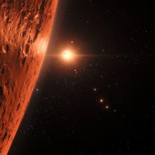 Sept cousines de la Terre autour de l'étoile Trappist-1