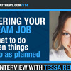 UNCOVERING YOUR DREAM JOB - What to do when things don't go as planned