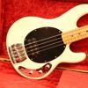 1979 MUSIC MAN STINGRAY - WHITE/TONE FULL/OFF/ UPPER REG/PICK/SLAP