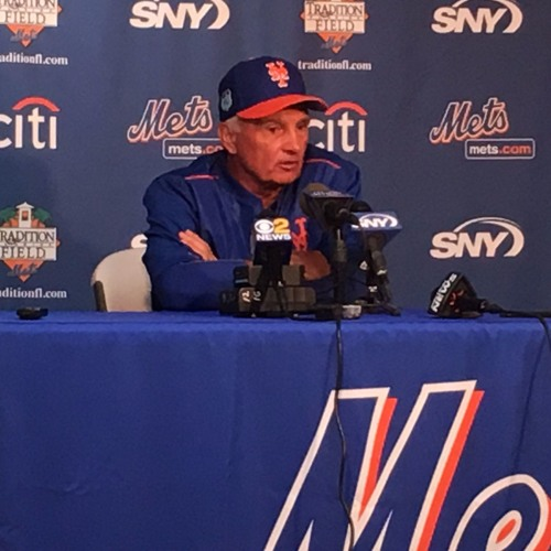 Terry Collins on Wheeler's bullpen
