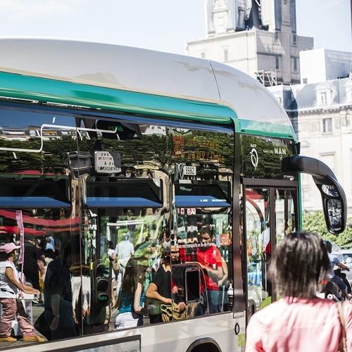 Gong piéton bus