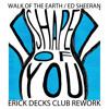 Ed Sheeran / Walk Of The Earth - Shape Of You / No Scrubs / No Diggity (Erick Decks Club Rework)