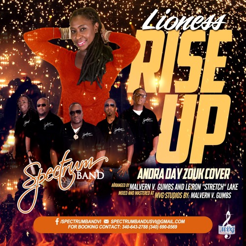 Rise Up Andra Day: Zouk Cover(Spectrum 2017)featuring