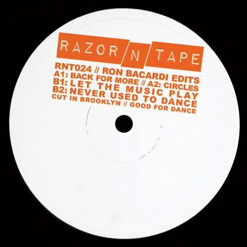 Ron Bacardi - Back For Edits (Razor N Tape)