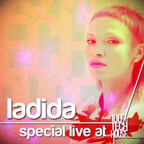 Ladida live at 100% Tech House party