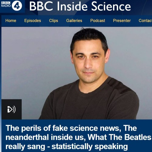 "Alexis on BBC Radio 4 ""Inside Science"" speaking about the Beatles"