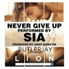 Sia - Never Give Up (ButlerJay Bootleg Mix) 128 BPM F#m