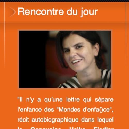 Interview à Radio Cité, Genève