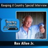 Interview with Rex Allen Jr. on the Keeping it Country Show with Don Caldwell