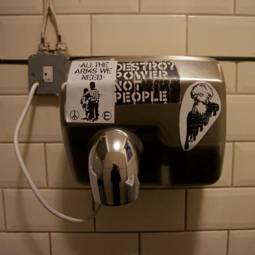 The Railway Hotel Gents Toilet Hand Dryer (Broken)