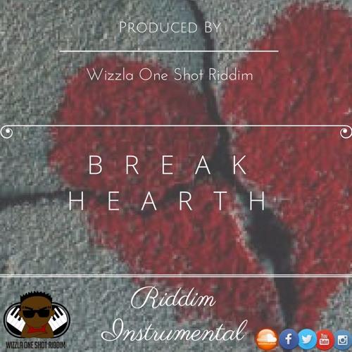 Wizzla One Shot Riddim - Break Hearth Riddim Instrumental ( By