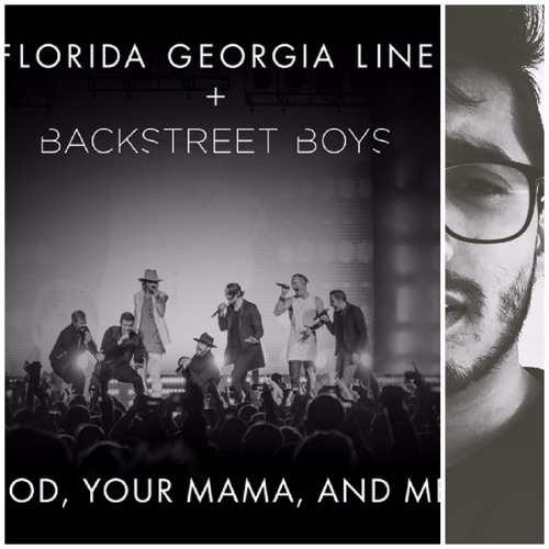 God, Your Mama and Me (feat. Backstreet Boys) - Florida Georgia Line (Karaoke Cover)