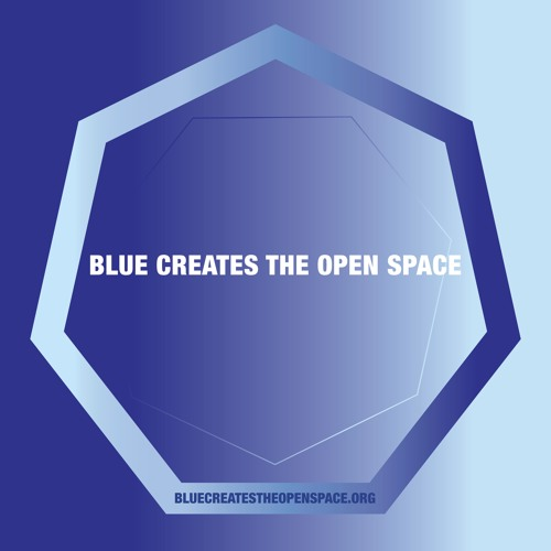 Blue Creates the Open Space