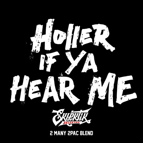 Eklektik Selektah - Holler If Ya Hear Me ( 2many 2pac Blend )