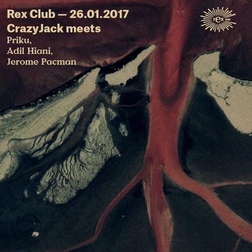 Adil Hiani at Rex Club, Paris (CrazyJack party 26-01-2017)