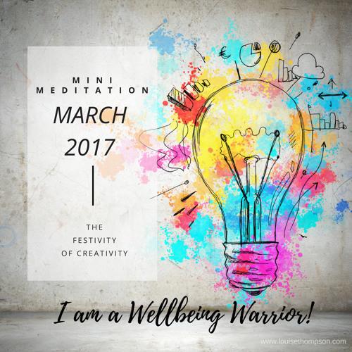 The Festivity of Creativity - Mini Meditation