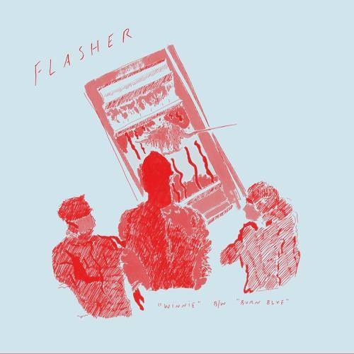 Flasher - Winnie b/w Burn Blue