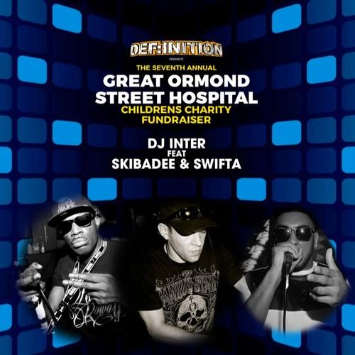 DJ Inter ft Skibadee + Swifta : Def:inition : The Great Ormond Street Hospital Fundraiser : 14:01:17