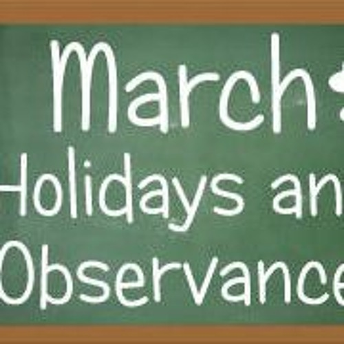 March observances