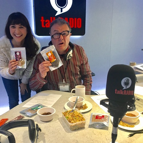 1st March 2017 - Eating Insects - Annem Hobson from So Wrong It's Nom on TalkRADIO with Paul Ross