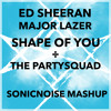 Ed Sheeran X Major Lazer - Shape Of You ÷ The Partysquad (SonicNoise Mashup) FREE DOWNLOAD