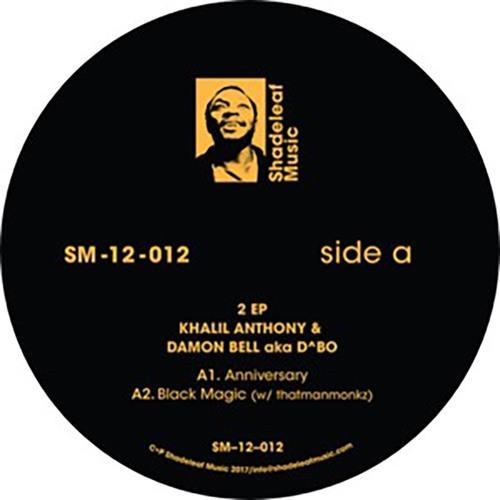 2 ep KHALIL ANTHONY + DAMON BELL aka D^BO!