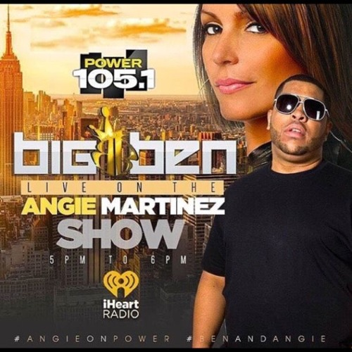 dj Big Ben Live on Power 105 1/25/17