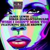 Jamie Lewis pres.Nikos Diamantopoulos ft.Billie Brown - Wish i didn't miss you