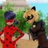 Miraculous Lady Bug & Cat Noir ( start music )
