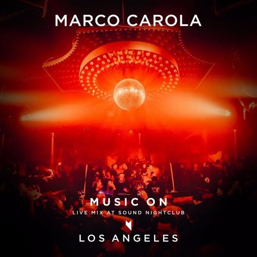 Marco Carola: live at Sound Nightclub - Los Angeles, February 24 2017