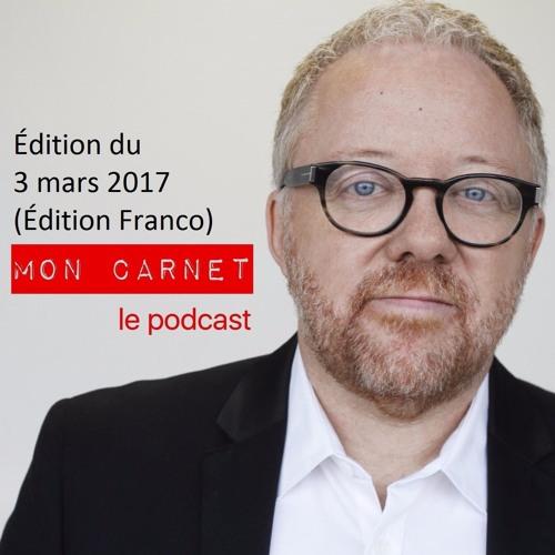 Mon Carnet - 170303 (Édition francophonie)