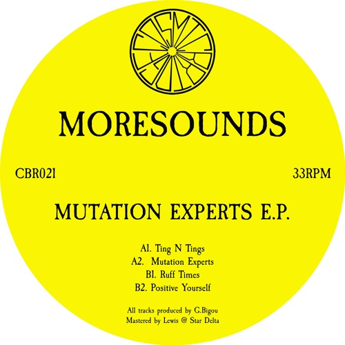 Moresounds - Mutation Experts (CBR021)