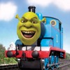 Thomas the Tank Engine but it's actually All Star with autotune