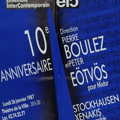 Interview Pierre Boulez - 10 ans de l'EIC